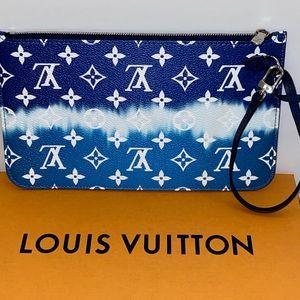 Louis Vuitton Neverfull Escale blue Monogram